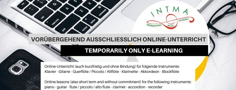 temporarily only e-learning